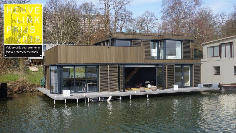 Energieneutrale woonboot Arnhem